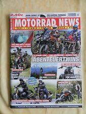 Motorrad News 07/17 R nineT -  CB 1100RS V-Strom 1000 1090 Adventure Africa Twin