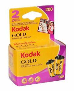 Kodak GOLD 200 35mm 24exp CHEAP Colour 35mm Print Film - TWIN PACK