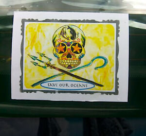 Save Our Oceans UV / waterproof sticker