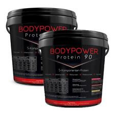 (7,70 EUR/kg) Body Power Protein 90 2 x 5kg Eimer Mehrkomponenten Eiweiß Aminos