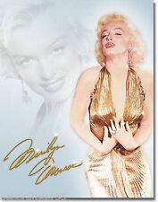 MARILYN MONROE Gold Dress Pin Up Vintage Metal Retro Tin Sign Large1656