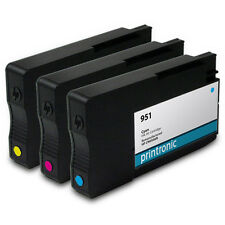 Remanufactured Ink Cartridge for HP 951 Color 3Pk - OfficeJet Pro 8100 8600