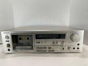 VINTAGE SONY TC-K71 3-HEAD CASSETTE DECK/RECORDER. Tested/Works