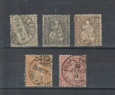 Timbres suisse  helvetia