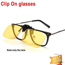 Clip On Lens Blocking Blue Light Reading Glasses Filter Eyewear Anti Glare PC