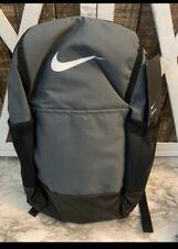 Nike Brasilia Unisex Backpack School Gym - Gray New Medium Size