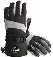 Ski & Snowboard Men & Women Gloves Winter Warm 3M Thinsulate Waterproof Cold Wea