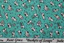 "/""homenaje a mi tía Grace/"" Acolchado Tela Circa década de 1930 BTY para Marcus 6269-0335"