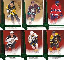 16/17 2016-17 Artifacts Emerald Parallel P.K. Subban #112 Canadiens  /99