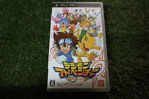 Used Playstation portable PSP Digimon Adventure Bandai namco from japan