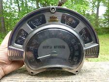 1951 1952 Chrysler instrument cluster bezel & speedometer gauges 61,336 Imperial
