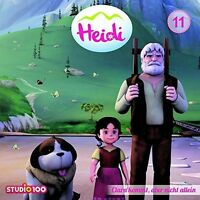 HEIDI - 11: CLARA KOMMT, ABER NICHT ALLEIN (CGI)   CD NEU