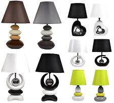 Tischlampe Tischleuchte Nachttischlampe Schreibtischlampe Lampe Keramiklampe Neu