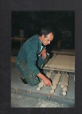 FRETEVAL 41 : FONDERIE / NOYAUTEUR au travail en 1995