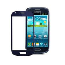 VETRO  VETRINO DISPLAY TOUCH SCREEN PER SAMSUNG GALAXY S3 MINI i8190  BLU