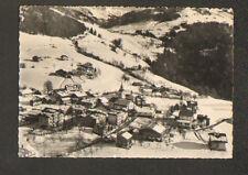 NOTRE-DAME DE BELLECOMBE (73) VILLAS , HOTELS & EGLISE Hiver 1957