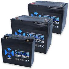 XENES ECO-Line 12V LiFePO4 25Ah 50Ah 75Ah Smart-BMS Lithium Batterie Akku Solar