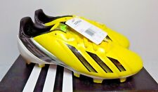 Adidas F10 TRX FG 2013 Soccer Shoes Yellow/Black/Silver New miCoach Compatible