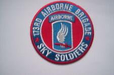 Ricamate/Patch della 173rd Airborne Division Sky Soldiers ca 7,5 cm