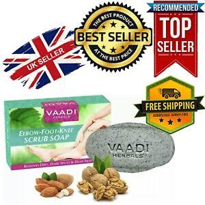 🇬🇧100% Organic Vaadi Herbals Elbow-Foot-Knee Scrub Soap, 75 gm