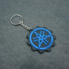 Keychain Key Ring RUBBER Motor Key Chain Buena Moto Goma Llavero Negro Yamaha