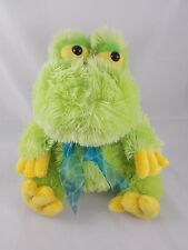 Dan Dee Green Frog toad Plush 12""