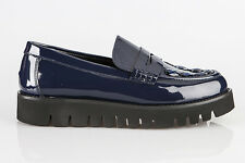 Authentic Baldinini Leather Italian Designer Shoes New Collection Blue