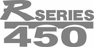 Scania R series 450 truck  stickers x 2