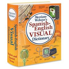Merriam-webster Spanish-english Visual Dictionary Dictionary Printed Book -