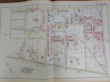 1889 GERMANTOWN TULPOHOCKEN STATION PHILADELPHIA PA COPY PLAT ATLAS MAP