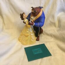WDCC Disney Beauty &The Beast Belle Tale As Old As Time Dancing Figurine-MIB