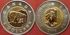 Specimen 2005 Canada 2 Dollars From Mint's Set