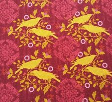Impressions Fall 2012 Finch Ty Pennington BTY Purple Coral Wine Gold Bird Floral