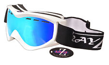 Rayzor Ski Snowboard Lunettes 100% UV400 ANTIFOG DOUBLE LENTILLE risiblgo. RRP £ 69