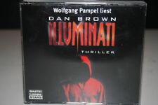 Wolfgang Pampel liest Dan Brown ILLUMINATI CD HÖRBUCH 6CD's BASTEI LÜBBE STARS