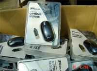 Original TARGUS AMU0102 Wired Mini Optical Mouse Dunkelblau, USB Kabel Maus, NEU