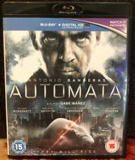 Automata [Blu-ray 2015] Sci Fi Robots Antonio Banderas