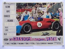 IL GRANDUCA E MISTER PIMM commedia auto Swift GLEN FORD fotobusta 1963