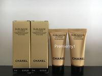 Lot of 2 Chanel Sublimage La Creme Texture Supreme Cream 5ml / 0.17oz each