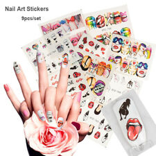 Girl  Nail Art Stickers Manicure Tips Nail Decoration Water transfer Decals