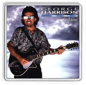 George Harrison Album Cover Fridge Magnet. 12 Album Options.