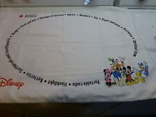 Disney American Red Cross Limited Care Pillow Case Rare First Aid Kit Supplies