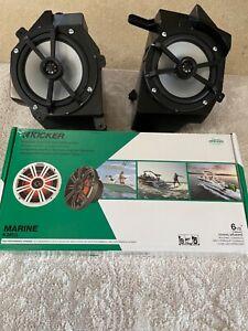 Metra Electronics JP1014 JL Wrangler Front Speaker Pods With Kicker KM65 Speaker
