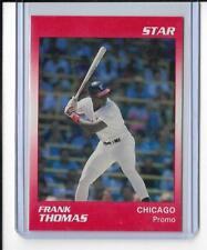 1990 Star Frank Thomas Blank Back Promo rc