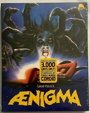 NEW AENIGMA LIMITED EDITION BLU RAY 2 DISC + SLIPCOVER RARE OOP SEVERIN
