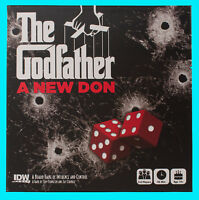 THE GODFATHER A NEW DON BOARD GAME Brand NEW Factory Sealed IDW Dice Games 2016
