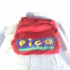 VIntage Sega Pico Promo Long Sleeve T-Shirt, 90's Video Game RARE Genesis Sz XL
