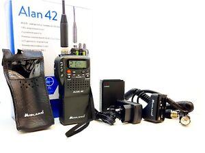 Midland Alan 42 Handheld AM/FM CB Radio 400 channel 25 -30 Mhz ASQ