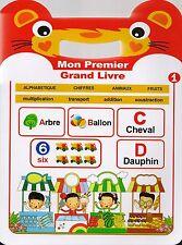 MON PREMIER GRAND LIVRE - LIVRE ILLUSTRÉ POUR ENFANT (LIVRE NEUF)