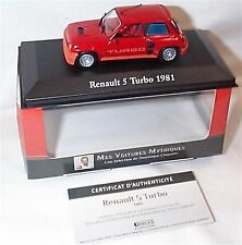 Renault 5 Turbo 1981 in Red 1-43 scale Cars Collection New in case boxed